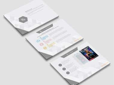 Crosslink Powerpoint Template