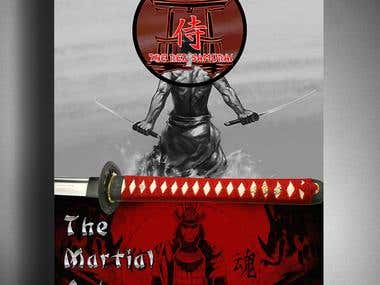 Flyer for a Martial Arts Dojo