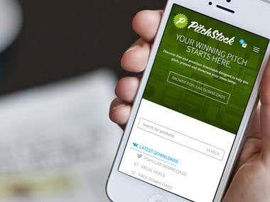 PitchStock Branding & Website