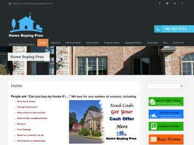 Website Development homebuyingpros.com