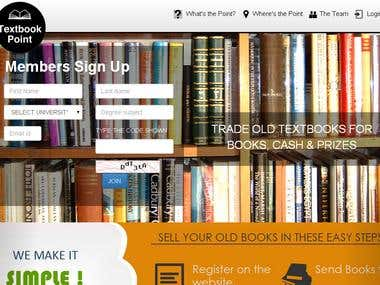 used book store web site