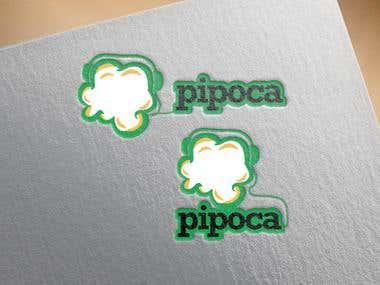 PIPOCA LOGO DESIGN
