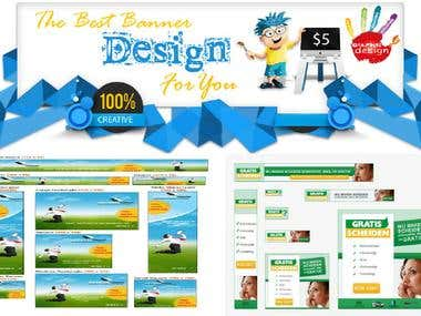 design Ad Banner for your Facebook,Google And Web