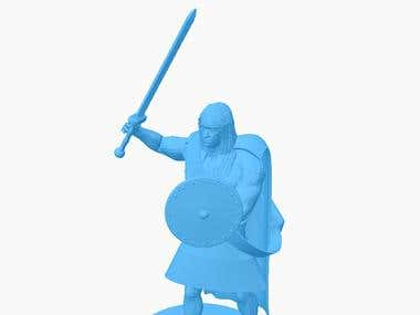 Printable 3D character design