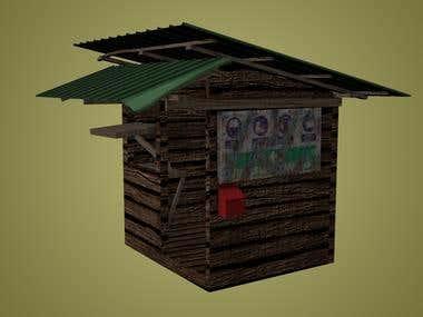 3D Hut