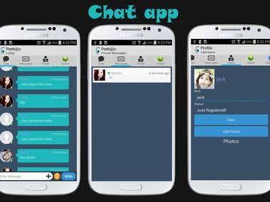 Chatting app