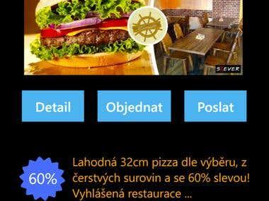Windows Phone 8 - Slevy (Discounts)