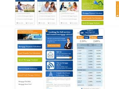 Recent Web Design Projects that we have been working on