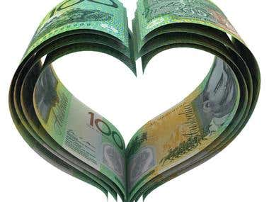 Heart of Australian Dollars