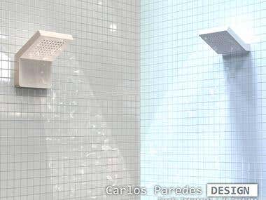 Ceramic showers | Concept design