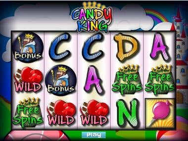 Candy King - Slot machine prototype