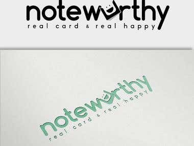 notewurthy Logo Design