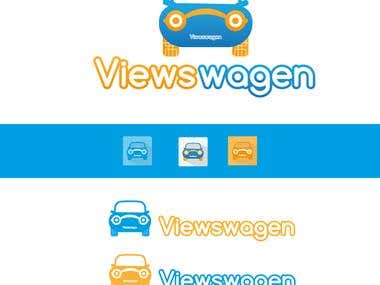 Viewswagen Logo Design