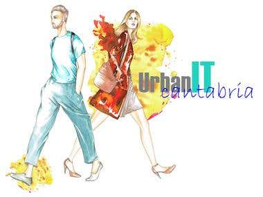 "Header of the TV programme ""IT fashion\"""