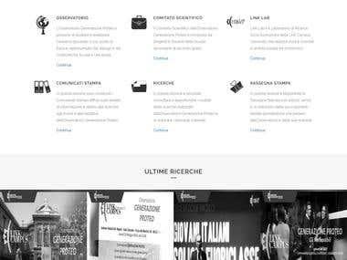 Responsive website customization