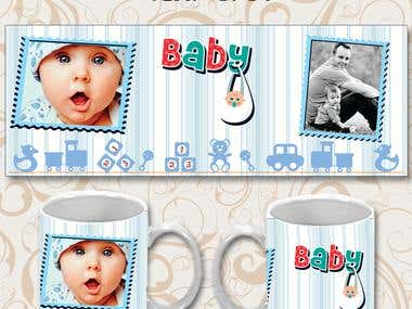 Templates for mugs