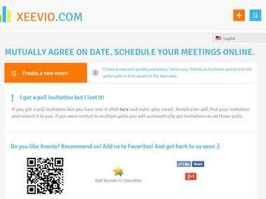 Website - www.xeevio.com