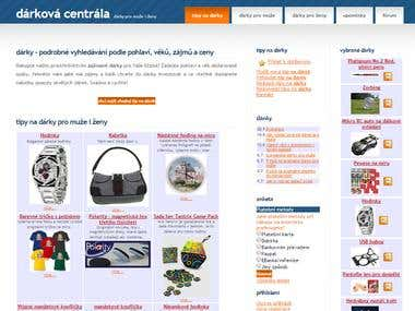 Gift catalogue - www.darkovacentrala.cz