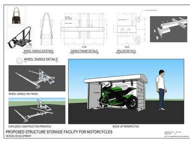 Motorbike Storage Design