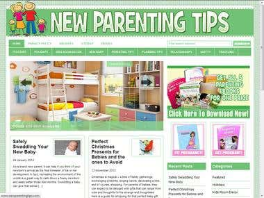 Parenting website