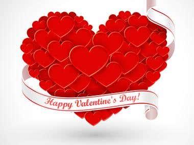 Valentine\'s Day Postcard