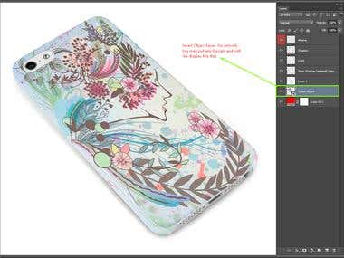 Artwork attachment with Smart Object layer on Product