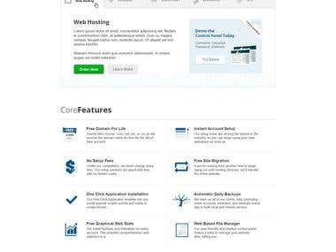 Web Hosting Theme