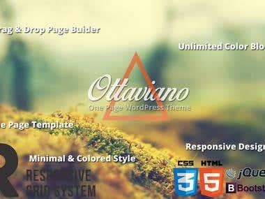 Ottaviano - OnePage WordPress Theme