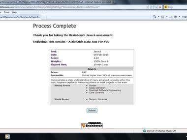 Java 6 BrainBench Exam