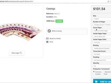 PrestaShop Dynamic Pricing Module in Action