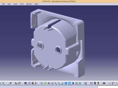 3D model in CATIA V5