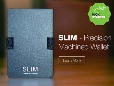SLIM Precision Machined Wallet