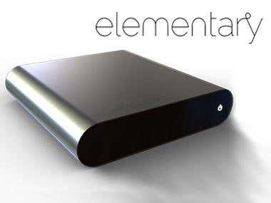 Elementary OS - Computer Case