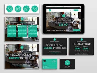 Manchester City Cleaners - Brand & Web Design