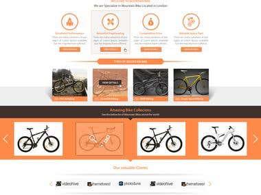 Mountain Bike Template (For Sale)