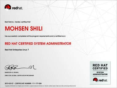 Red Hat Certified System Administrator (RHCSA) RHEL7