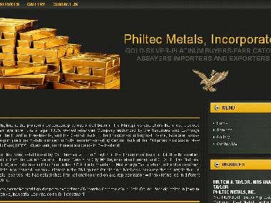 Philtec Metals, Incorporated Website