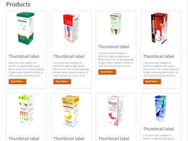PHP based CMS for a Pharmaceutical Company