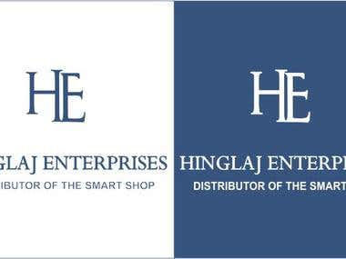 Logo Design For Hinglaj Enterprises
