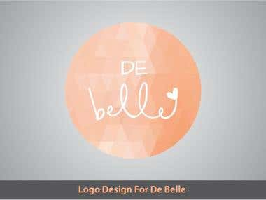 De-Belle Logo Design