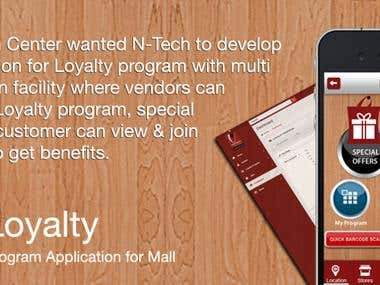 Loyalty Program Application for Mall