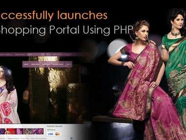 Online Shopping Portal Using PHP