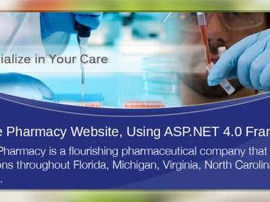 Rx Care Pharmacy Website