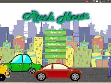 Rush Hour (Traffic Game in java)