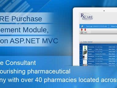 Rx CARE Purchase Management Module