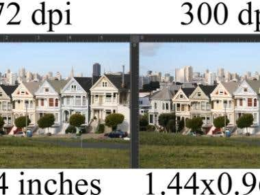 Photoshop DPI