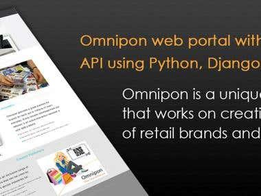 Omnipon web portal