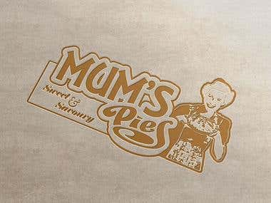 Design a Logo for MUM\'S PIES