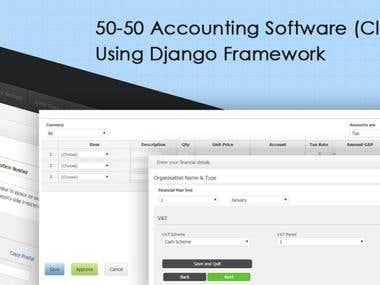 50-50 Accounting Software