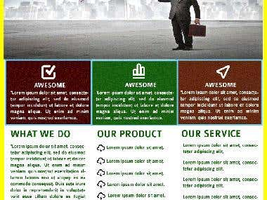 Own Designed Corporate Flyer Template